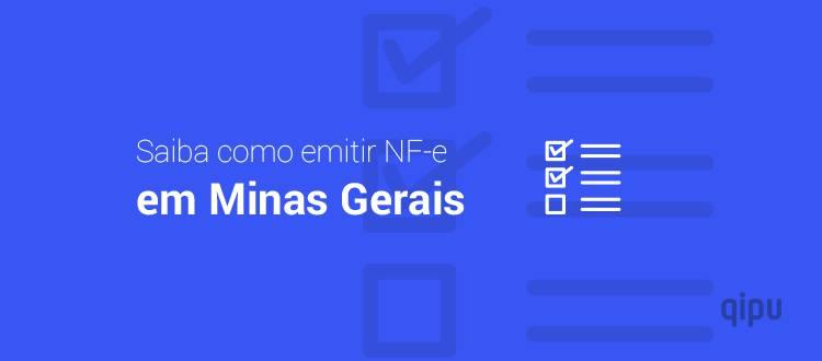 Como emitir NF-e em Minas Gerais?