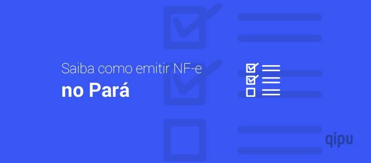 Como emitir NF-e no Pará?