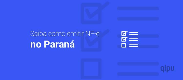 Como emitir NF-e no Paraná?