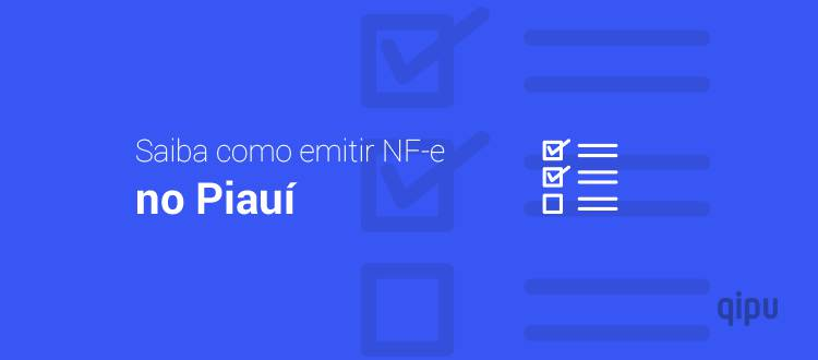 Como emitir NF-e no Piauí?