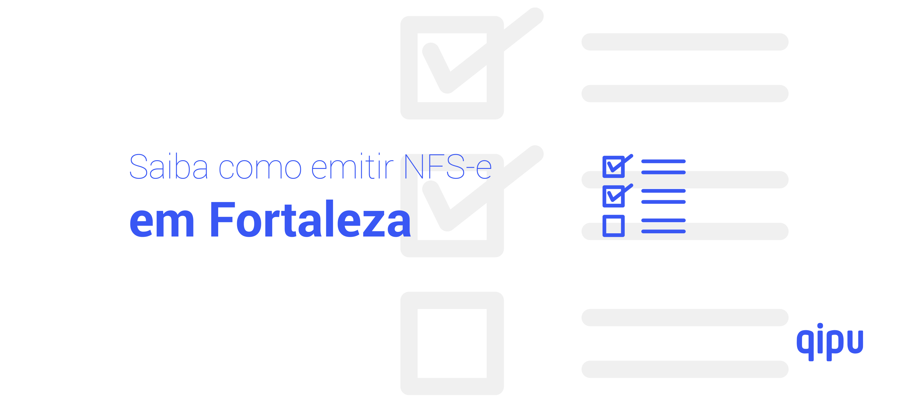 Como emitir Nota Fiscal de Serviço (NFSe) em Fortaleza?
