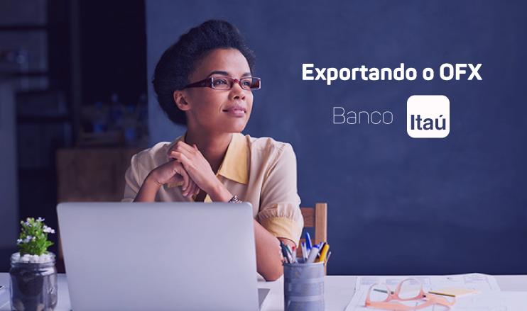 Exportando o OFX do Itaú